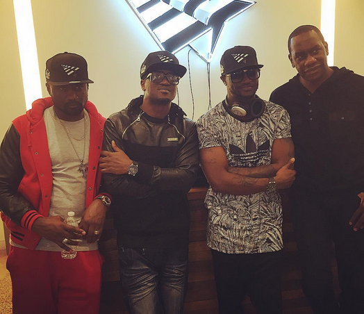 Psquare and Jude in JayZ New York office