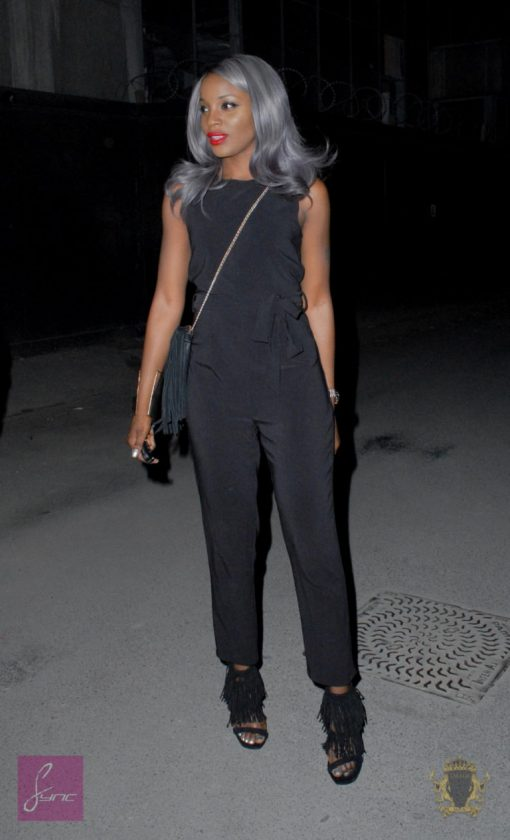 Seyi Shay at Smade Party in London