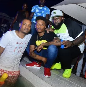 Wizkid, Shina Peller and Special Ed