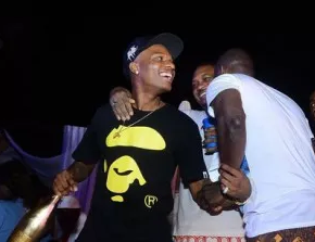 Wizkid and Shina Peller - Quilox Ultra Pool Party