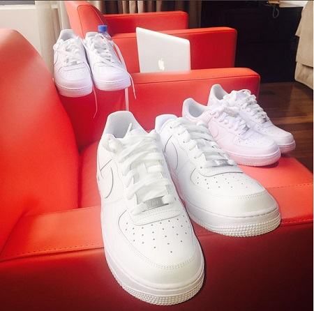 Wizkid sneaker all-white NaijaVibe