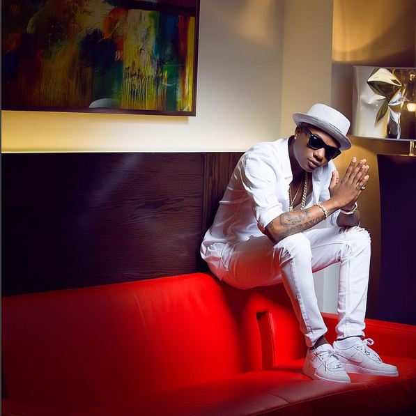 Wizkid wows in all-white photoshoot