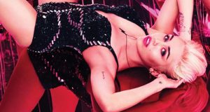miley cyrus is announced as the new spokesperson of macs viva glam campaign
