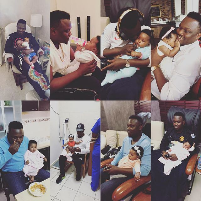 Adorable Photos of Dr Sid & His Daughter Bonding