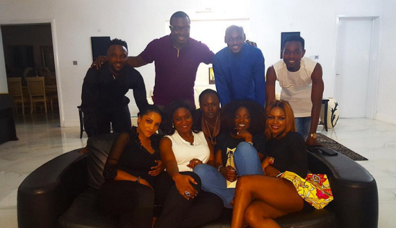 Ali Baba hosts Tuface, Annie, Iyanya, Freda Francis, Patoranking and more to dinner