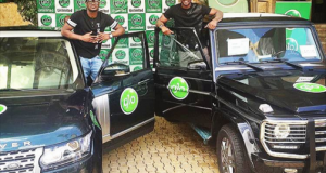 Glo gives Psquare brand new cars