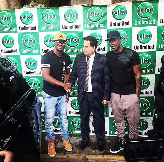 Glo gives Psquare brand new cars NaijaVibe