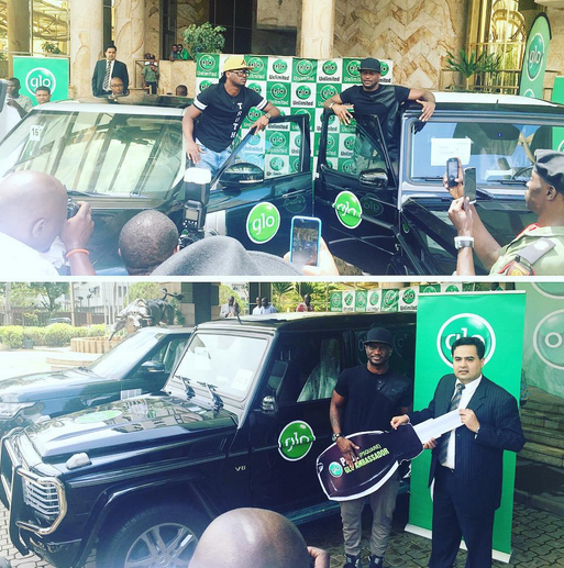 Glo gives Psquare brand new cars for being ambassadors