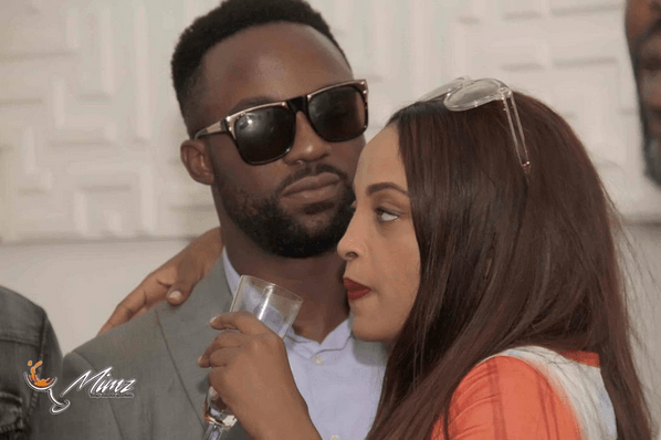 Iyanya and Girlfriend Freda Francis
