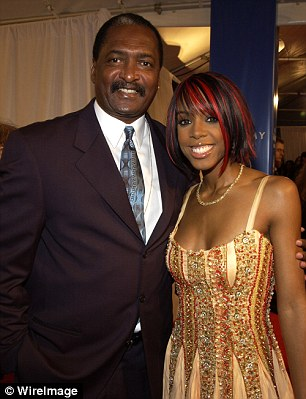 Mathew Knowles and Kelly Rowland