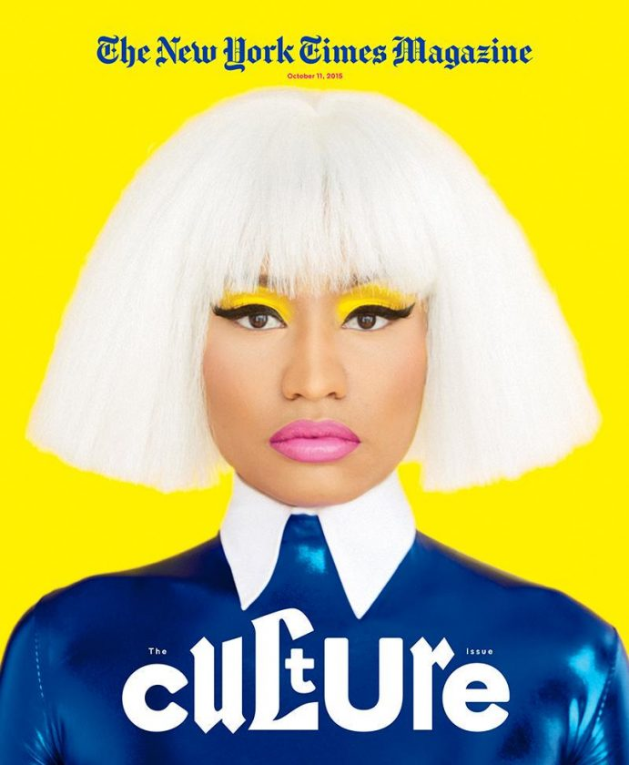 Nicki Minaj covers New York Times mag