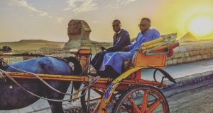 Sean Tizzle Goes On Vacation In Egypt