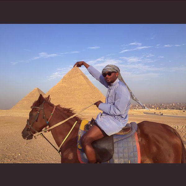 Sean Tizzle On Vacation In Egypt