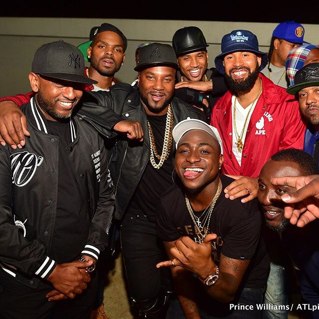 Trey Songz, Young Jeezy and Davido