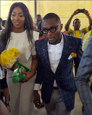 Ubi Franklin and Lilian Usoro Wedding