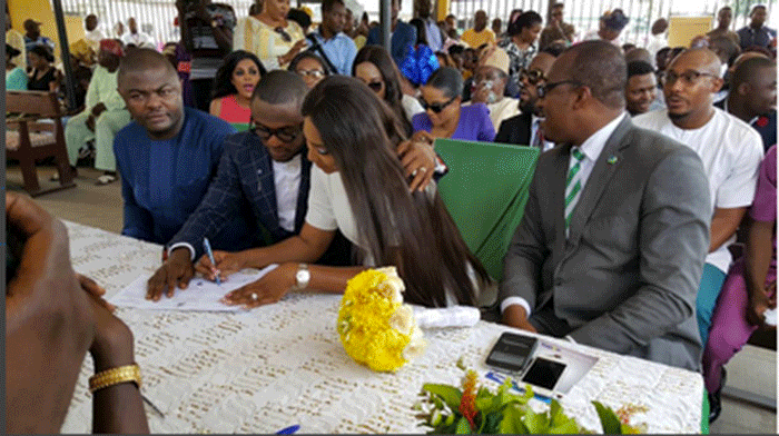 Ubi Franklin and Lilian Usoro court Wedding