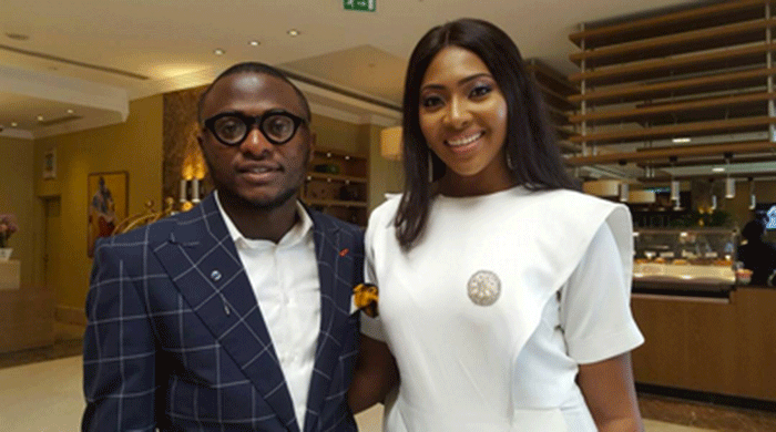 Ubi Franklin and Lilian Usoro