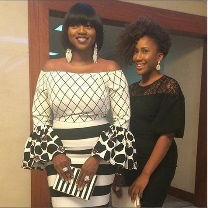Waje and Emerald attend Tinsel Charity Ball together
