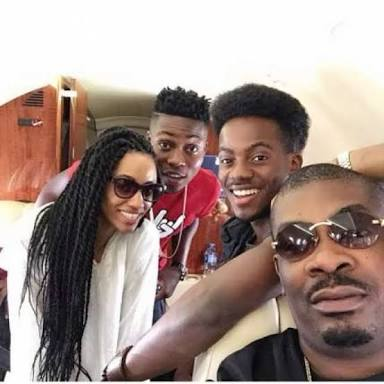 Don jazzy, Korede Bello, Di'Ja & Reekado Banks