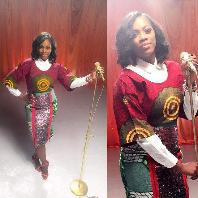 Tiwa Savage stuns in photo-shoot with Paul Okoye