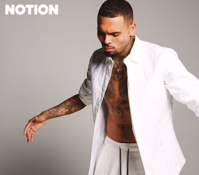Chris Brown for Notion magazine