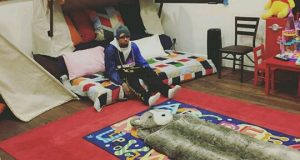 Chris Brown shows off Royalty's bedroom