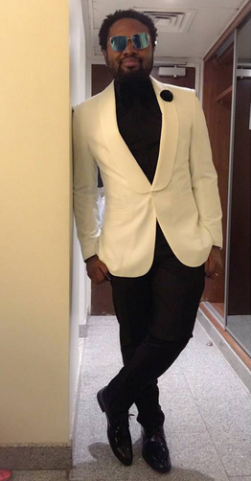 Cobhams Asuquo Shows Off Urbane & Suave Look