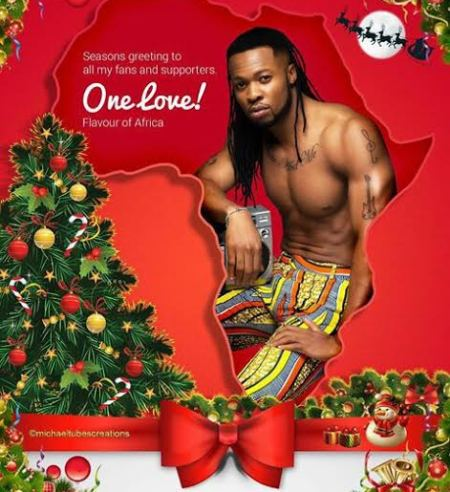 Flavour sexy Christmas Card