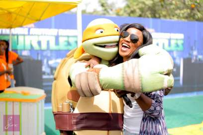 Seyi Shay At The Nickelodeon Kids Event