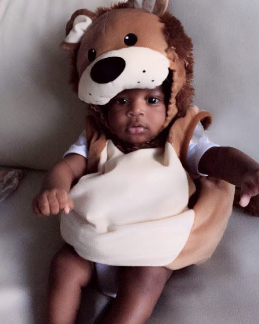 Tiwa Savage & Teebillz finally show off their baby boy's face