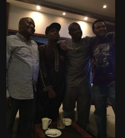 Dangote, Olamide and Don Jazzy