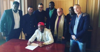 Davido Lands Record Deal with Sony Music Global
