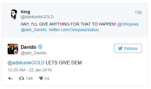 Davido and Adekunle Gold set to Release new song