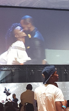 Eva Alordiah gets engaged on stage