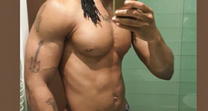 Flavour Shares Another Shirtless Photo