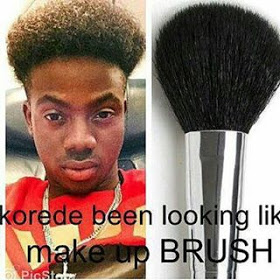 Hilarious Photo of Korede bello Shared by Donjazzy