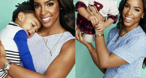Kelly Rowland and Titan cover of Parents magazine