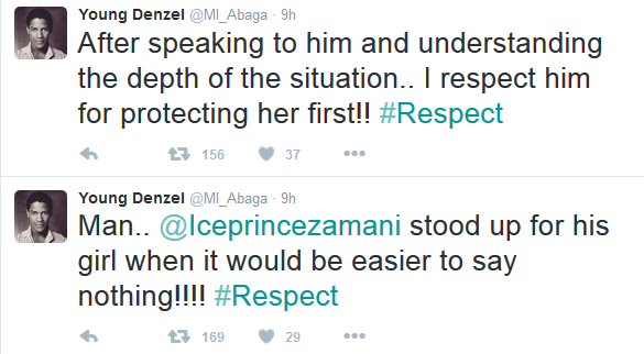 M.I defends Ice Prince