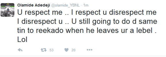 Olamide blasts Don jazzy