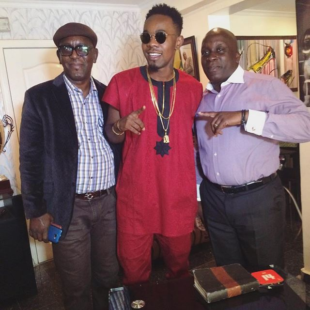 Patoranking sign New Deal With Lagos City Marathon