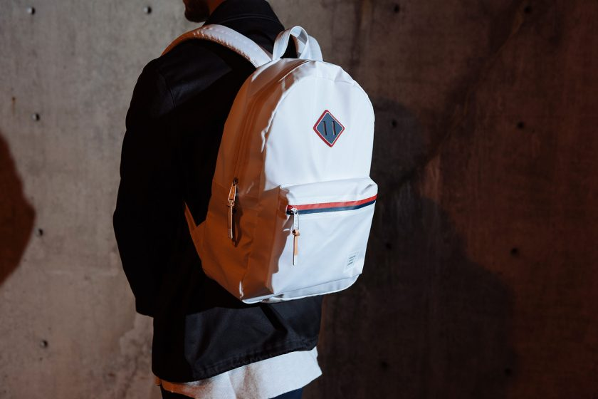 RUSKIN BACKPACK – WHITE POLYCOAT