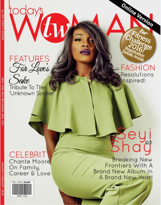 Seyi Shay Cover Two woman Magazine