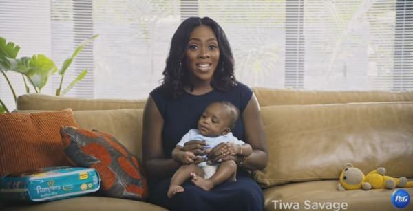 Tiwa Savage and son become Pampers Ambassadors | Photos