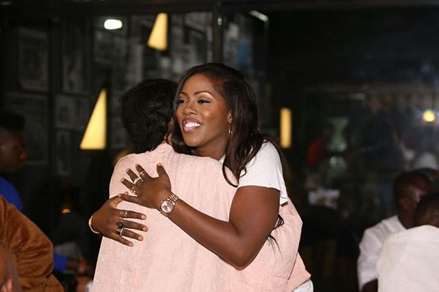 Tiwa savage at mavin dinner
