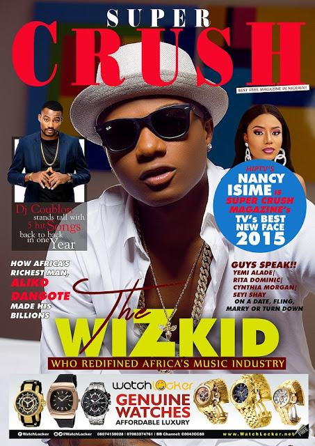Wizkid Named Artist of the Year 2015