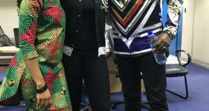 Chidinma, Tiwa Savage and Dr Sid pictured together