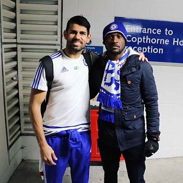 Diego costa and Peter