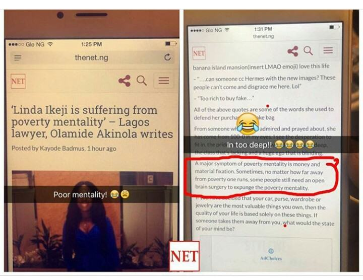 Lonely And Bitter - Wizkid Blasts Linda Ikeji