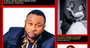 Olakunle Churchill and Cynthia Morgan cover 21st Edition of Alphaplus Mega magazine