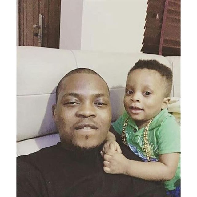 Olamide and son